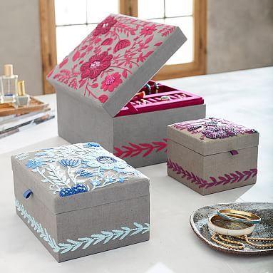 Teen Jewelry Box 145 Best *decor  Jewelry Storage* Images On Pinterest  Jewellery