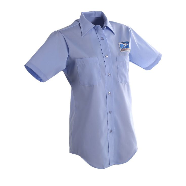 Postal Uniform Shirt Womens Short Sleeve for Letter Carriers and Motor Vehicle Service Operators (PX406)