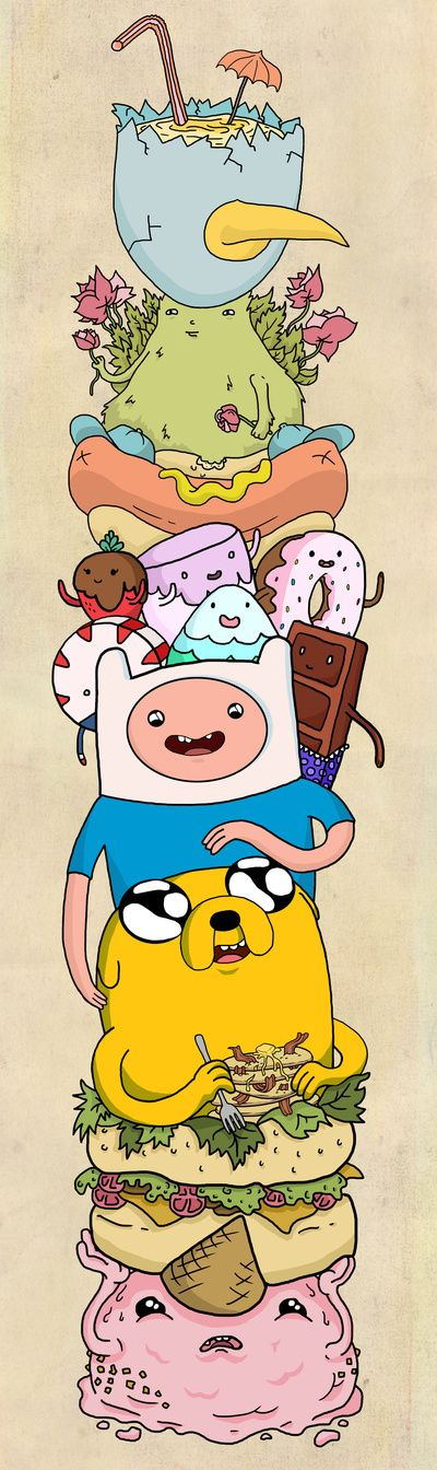 Adventure Time Art Print by Laura O'Connor | Society6