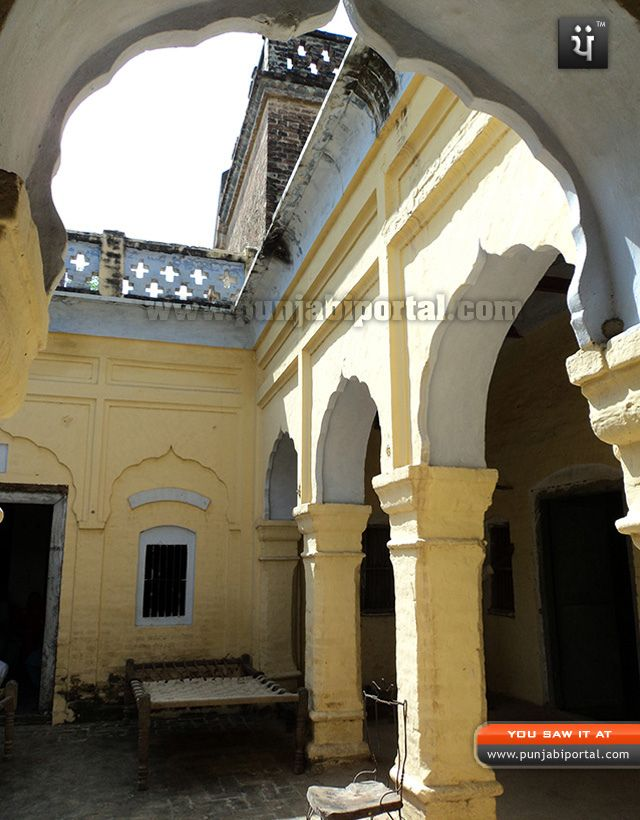 Classic old house in rural area of punjab india haweli for Architecture design for home in punjab