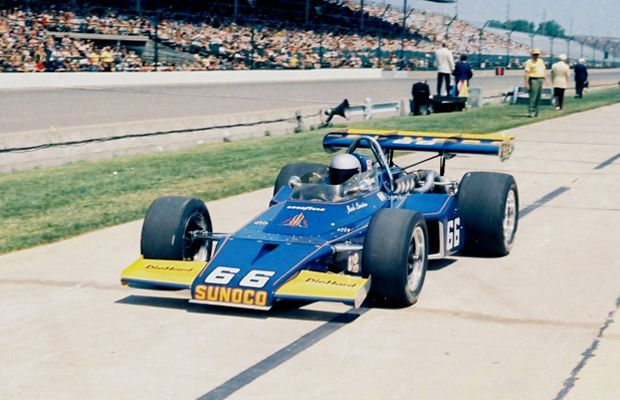 Indy 500 winner 1972: Mark Donohue  Starting Position: 3  Race Time: 3:04:05.540  Chassis/engine: McLaren/Offy