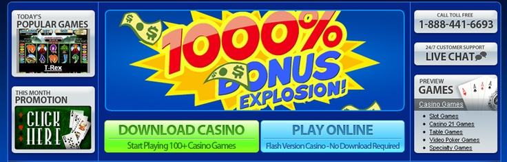 Play Online Casino offers players the benefits of world-class play all your favorite games for free.