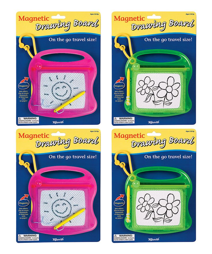 Another great find on #zulily! Neon Magnetic Drawing Board - Set of Four by Toysmith #zulilyfinds