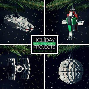 """El conocido ilustrador y fotógrafo Chris McVeigh nos trae para esta Navidad una de sus nuevas creaciones para que nuestro árbol de Navidad luzca más original que nunca. McVeigh ha diseñado unos divertidos adornos de DIY LEGO (""""hágalo usted mismo"""" por sus siglas en inglés) estas fiestas. La originalidad es la característica predominante de estos …"""