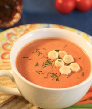 Creamy Tomato Soup (Crockpot) - This was delicious!