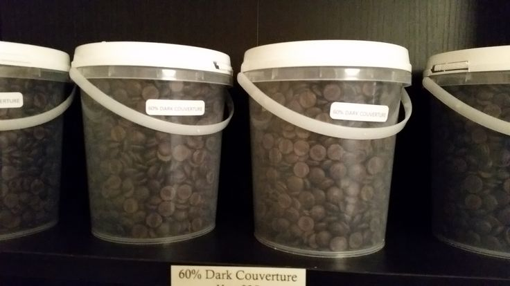 For a short time only we have these 1kg containers of Milk or Dark couverture callets in our South Yarra Pantry.