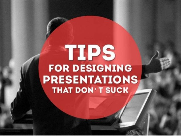How to Create Presentations That Don't Suck by SketchBubble via slideshare