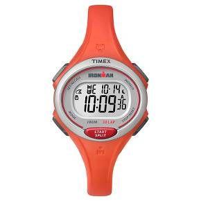 Women's Timex Ironman® Essential 30 Lap Digital Watch - Orange TW5K899009J : Target
