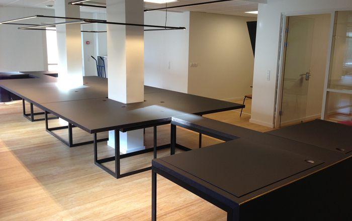 The flex table under construction