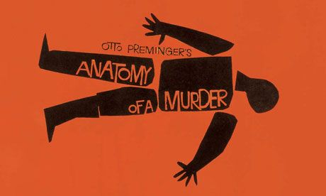 Anatomy Of A Murder  One of the Very Best movies ever to hit the screen. If you haven't seen it you're missing out.