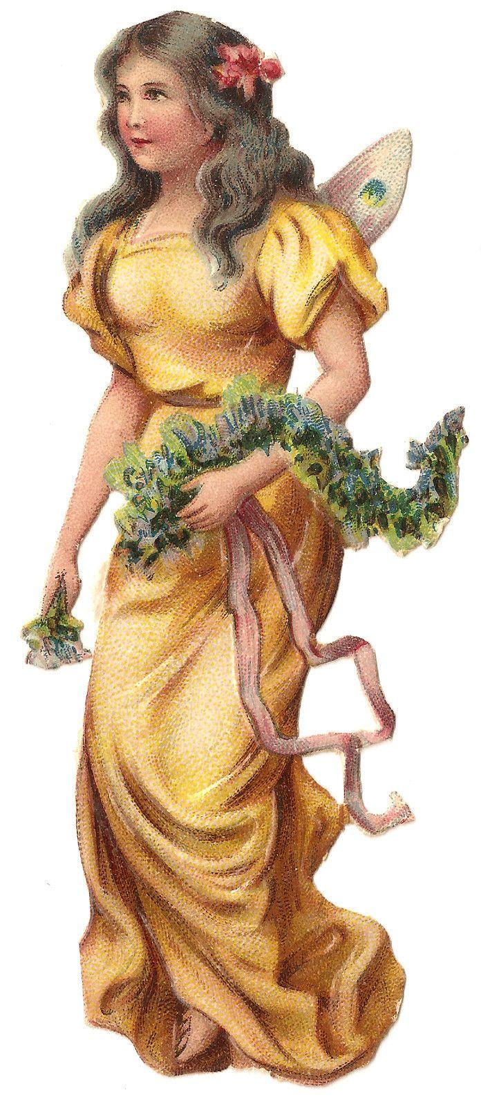 1880s Fairy Woman