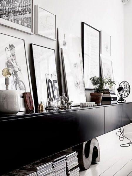 K R i S P I N T E R I O R : Weekend Black & White Inspiration