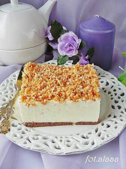 Ala piecze i gotuje: Ciasto śnieżny puch
