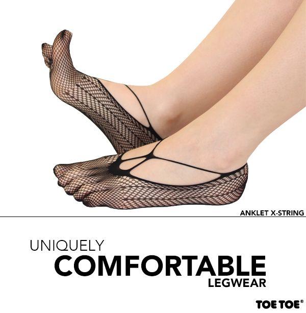 Anklet X-String #TOETOESocks #TOETOE #Legwear