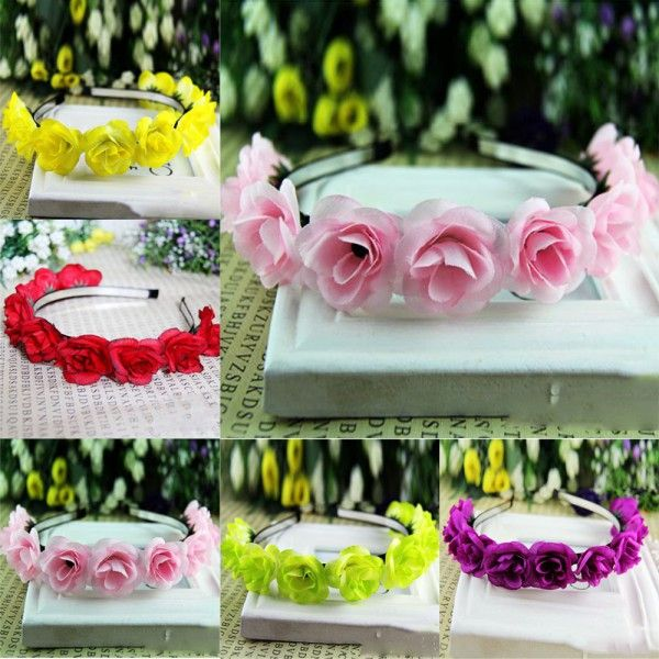 Cheap hairband accessories, Buy Quality headwear professionals directly from China hairband baby Suppliers:    Cute Flower Headwear Hair Decor Headdress Headband For Baby Kids Girls Condition: 100% Brand New Color: Pink,Yellow,P