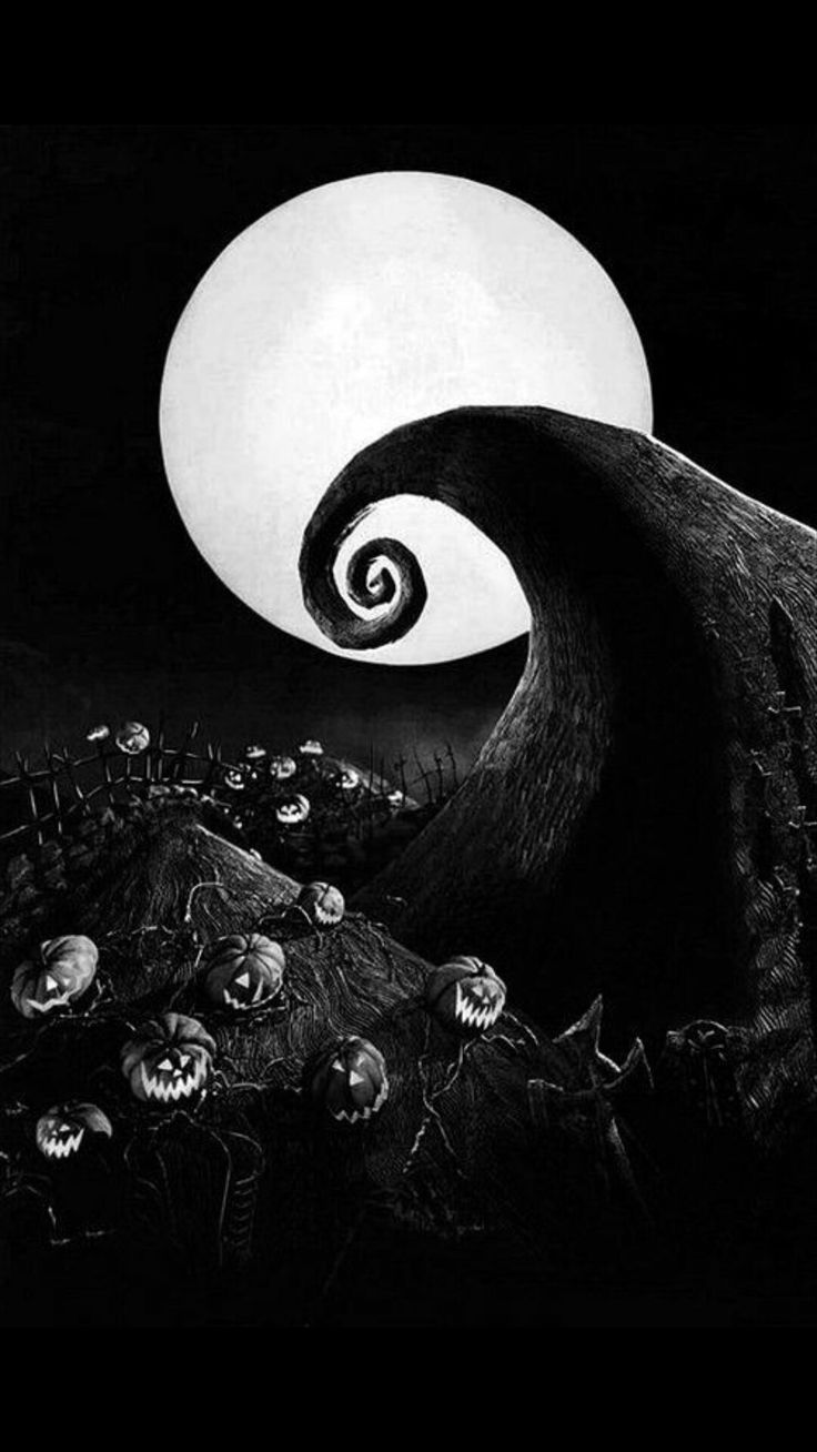 Halloweenwallpapertimburton With Images Nightmare Before