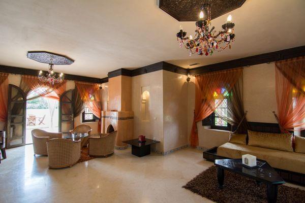Location vacances villa Mechouar Kasba: Villa 3 ch salons