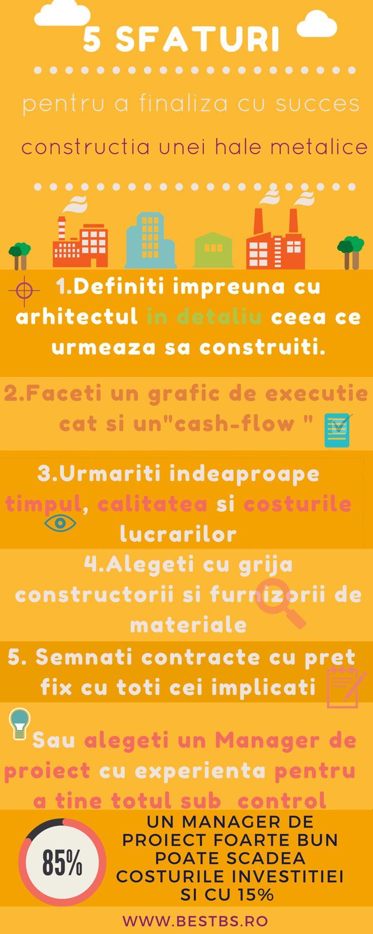 Sfaturi in constructii industriale