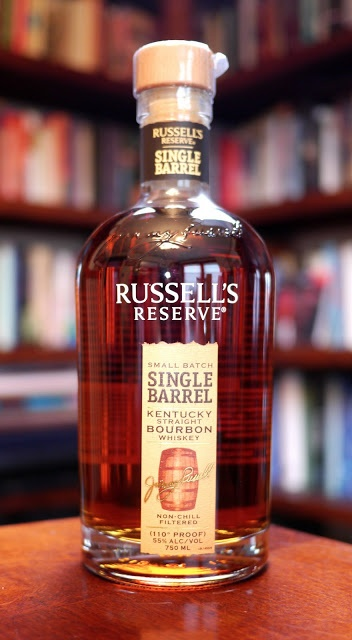 The Russell's Reserve Small Batch Single Barrel Kentucky Straight Bourbon Whiskey