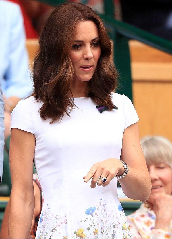 Kate et William à Wimbledon   Dans le boudoir de Kate Middleton