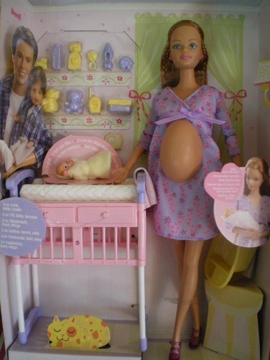 Barbie has never been pregnant (only her best friend Midge has). | 18 Surprising Things You Don't Know About Barbie