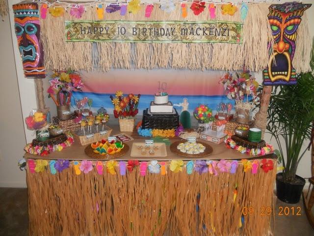 Blog my little party ideas e inspiraci n para fiestas fiestas tem ticas hawaianas hawaii - Fiesta hawaiana ideas decoracion ...