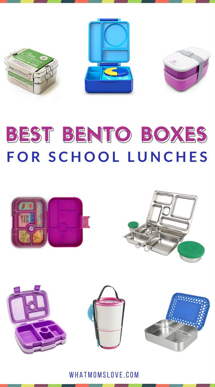 Best Bento Boxes for kids school lunches | Forget the tupperware! Pack a fun lunch in stainless steel with loads of compartments | Plus supplies and tools for packing a healthy lunch for picky eaters, kindergartners, grade schoolers and teens | Back to School Guide