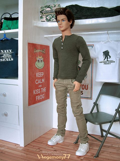 ken doll clothes. apparently our ken dolls need clothes... lol