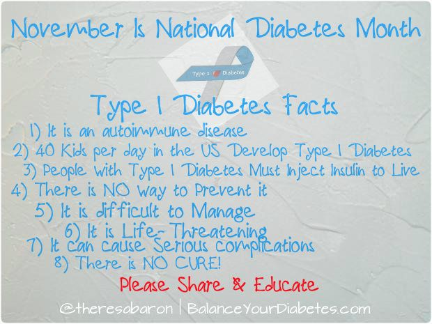 type 1 diabetes thesis statement