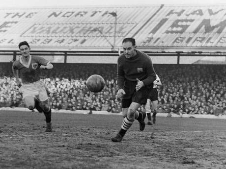 Ian Black, Goalkeeper for Fulham in the 1950s
