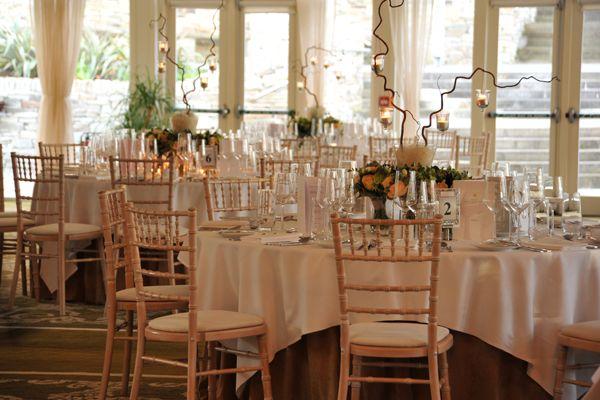 Wedding banquet room at Solis Lough Eske Castle, Donegal