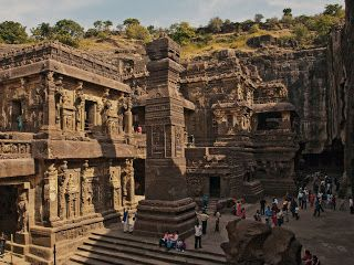 Kailasa Temple Ellora, Ellora Kailashnath temple, Ellora Caves,  The Amazing Kailasa Temple at Ellora,Temple at Ellora, World's largest monolithic structure, The masterpiece of Ellora,  famous rockcut Kailas temple at Ellora, KAILASHNATH TEMPLE ELLORA