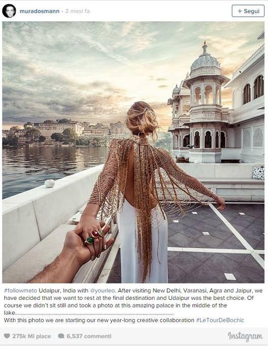 «Seguimi»: gli scatti «per mano» di una coppia in tutto il mondo - Corriere.it