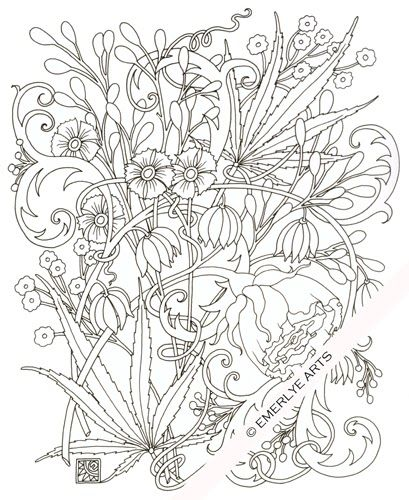 marijuana coloring pages - photo#20