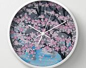 Painted clock by Such Flair. Made in Australia.