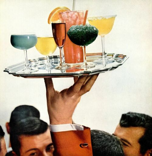 Vintage Cocktail & Art Party! Who doesn't love a little vintage art?