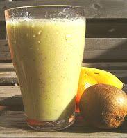 Recetas para tu Thermomix - desde Canarias: Zumo de kiwi y plátano