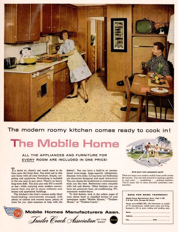 Mobile Homes Manufacturers Association 1960