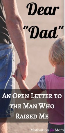 Letter to Dad | Foster Care | Adoption | Father | Foster Parent | Adopt |