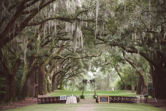 Legare Waring House romantic outdoor wedding venue
