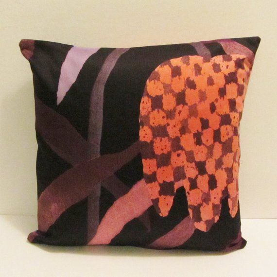 Marimekko pillow cover in authentic Gerda fabric f…