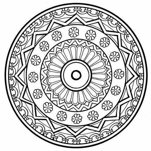 Mandala para pintar