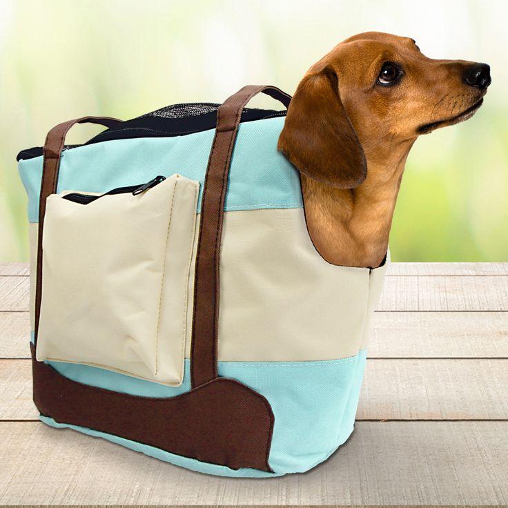 """https://www.schecker.de/tragetasche-sky  Hunde Tragetasche """"Sky"""" Hunde-Tragetasche in modisch-frischem, sommerlichem Design. Mit Seitenfach und Reißverschlüssen. Vielfach verwendbar! Für Hunde bis 7 kg.  #hunde #sommer #schecker #tasche"""