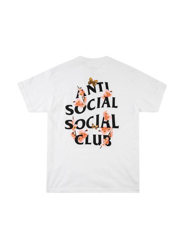 Shop White Anti Social Social Club Kkoch Logo Print T Shirt With Express Delivery Farfetch Anti Social Social Club Print T Shirt Anti Social