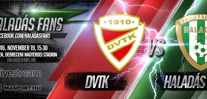 Diósgyőri VTK-Szombathelyi Haladás 2-1 (0-1)