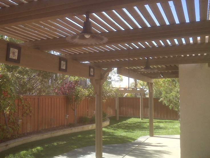 17 best images about yard patio covers on pinterest - How to make a patio shade ...