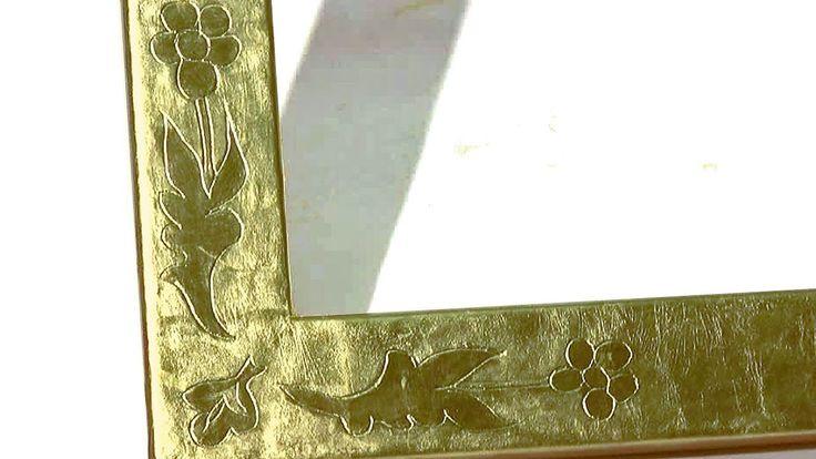 Corso di doratura: 10 - Incisioni decorative