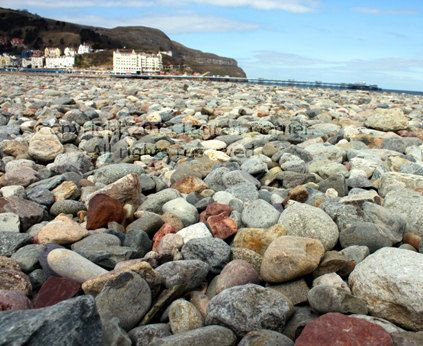 Llandudno, Wales, Beach Sea Coast Rocks Holiday UK by FlashForward, $18.00