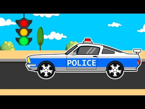 racing cars the police car kids cars trucks and emergency vehicles for kids