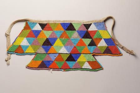 Beaded apron. North Sotho, South Africa.